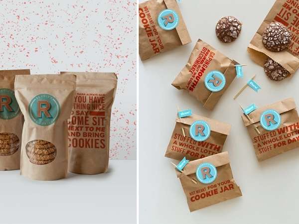 Reggie's Cookies Fun Packaging
