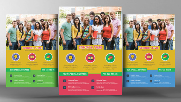 26 amazing education flyer templates creatives