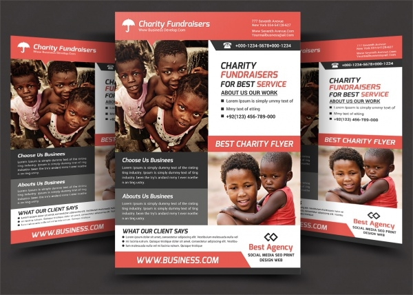 Creative Charity Flyer Design