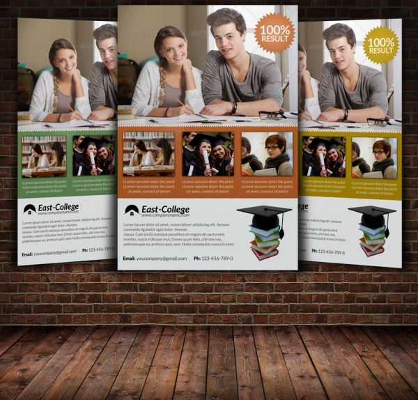 Adult Education Flyer Template