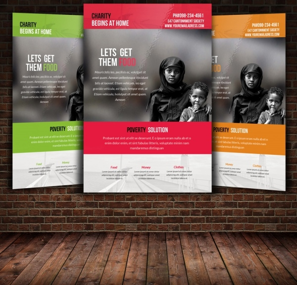 Download Charity Flyer Template