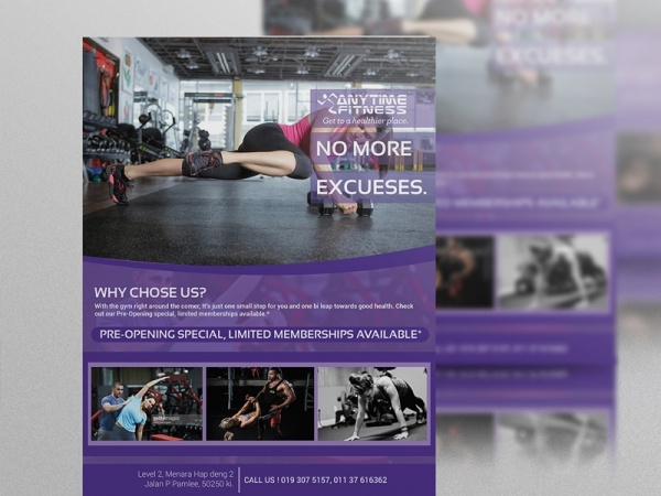 Free Healthcare Body Fitness Flyer