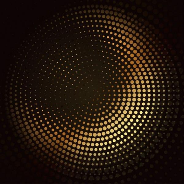 golden-mosaic-halftone-vector-design_1017-848
