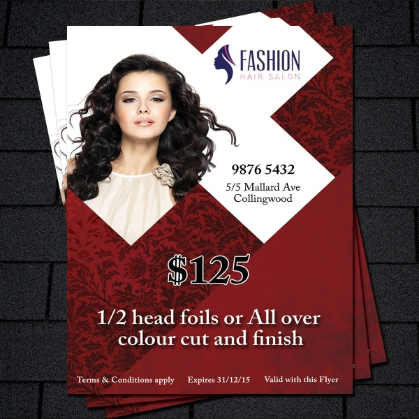 Business Promotion Salon Flyer