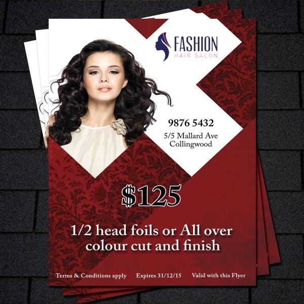 Business Promotion Salon Flyer
