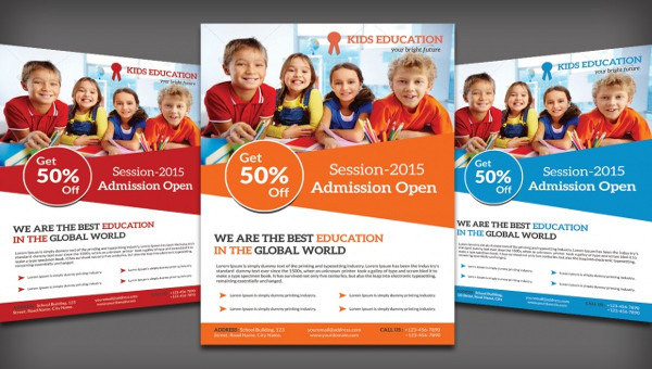 27 School Flyer Templates Psd Vector Eps Jpg Download