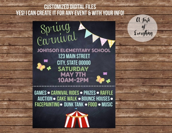 spring carnival festival Flyer