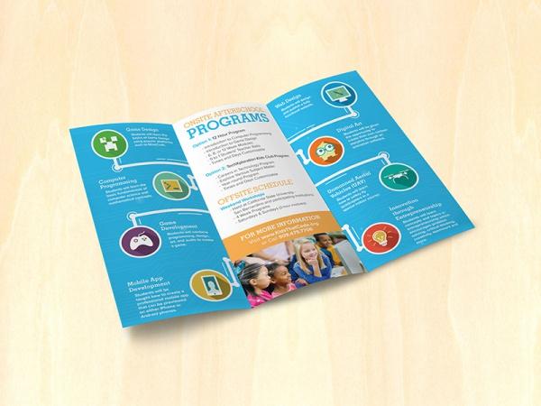 Kids Daycare Programming Brochure