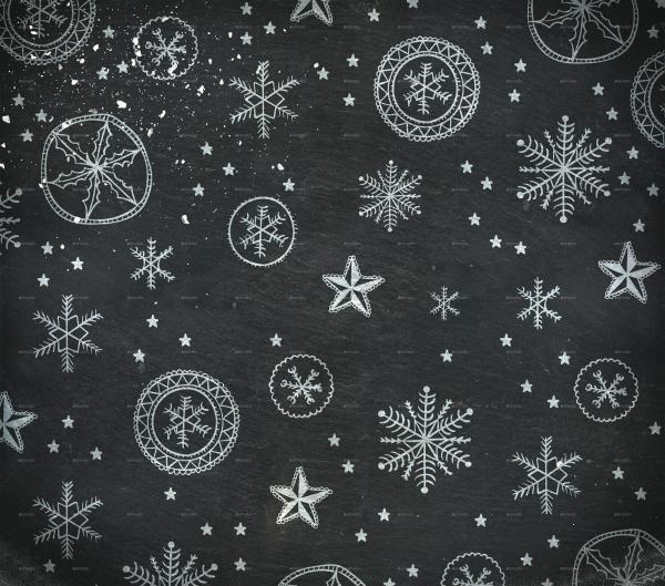 Christmas Chalkboard Texture