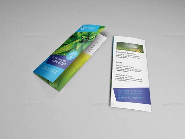 Halffold Flower Landscape Brochure