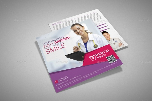 Dental Square Brochure Design