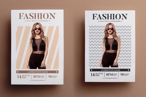 Fashion Sale Advertisement Flyer