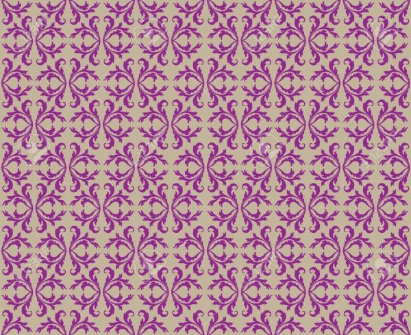 Flourish Swirl Corner Pattern