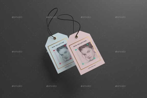 Die Cut Swing Tags