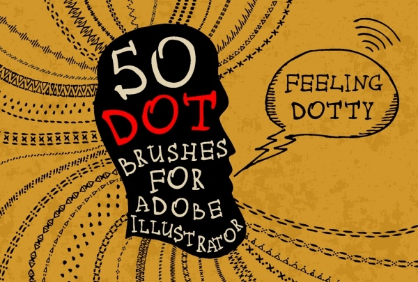 50 Dot Zipper Brushes