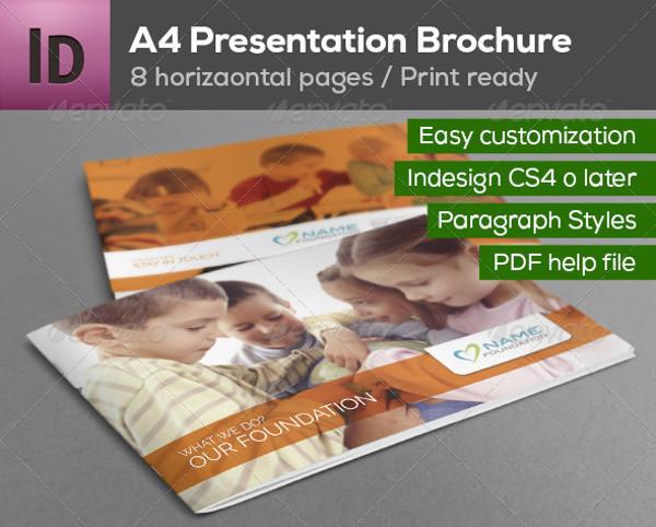 A4 Presentation Brochure