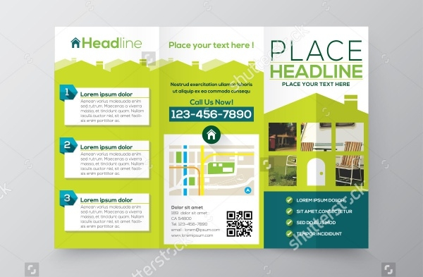 Property Brochure Templates  Vector Eps Ai Illustrator Download