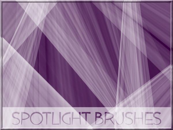 ABR Format Spotlight Brushes