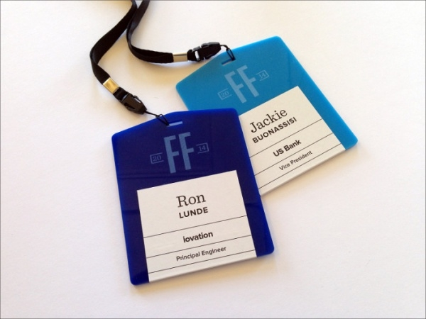 Acrylic Name Tags Event design