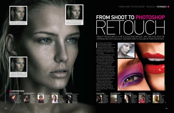 Advanced Photoshop Beauty Magazine