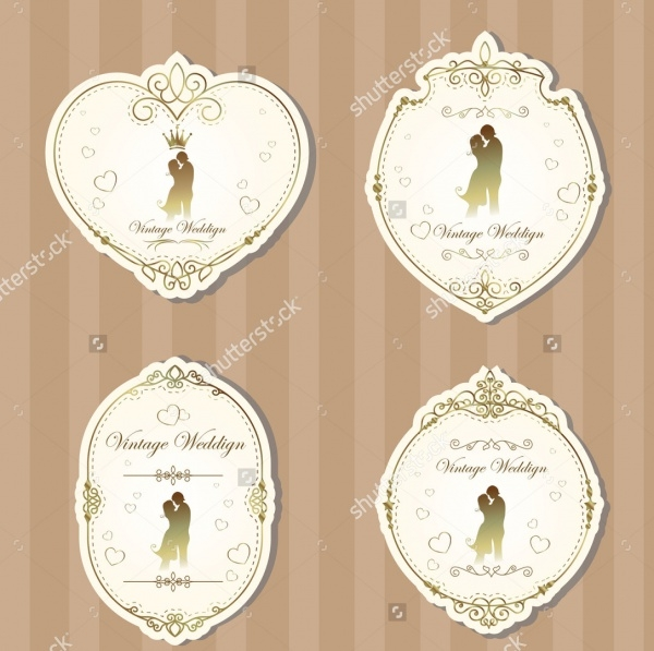 Affordable Wedding Label