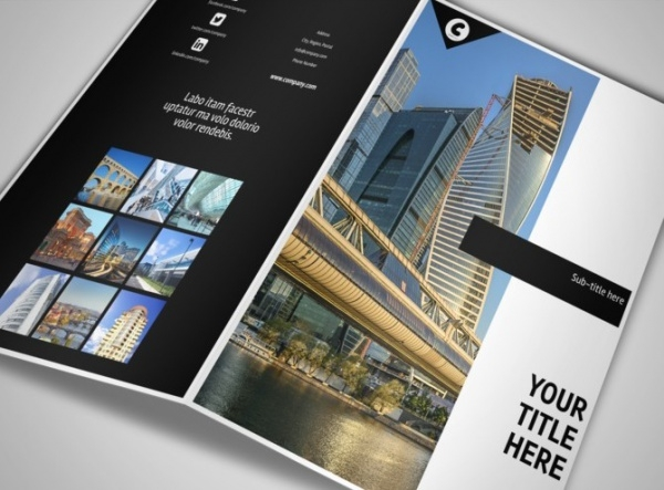 Architecture Brochure Designs  Psd Vector Eps Jpg Download
