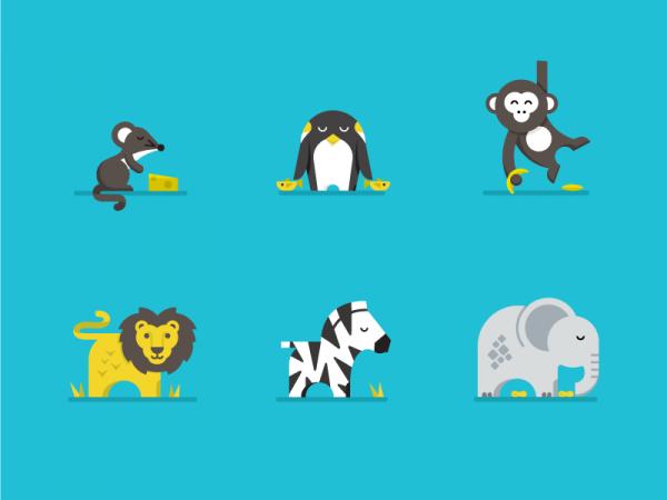 Amazing Cool Animal Illustrations