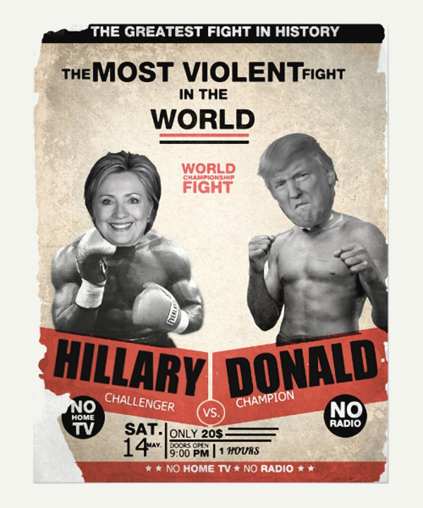 Amazing Political Flyer DEsign