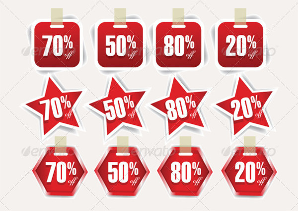 Amazing Sale Discount Tags