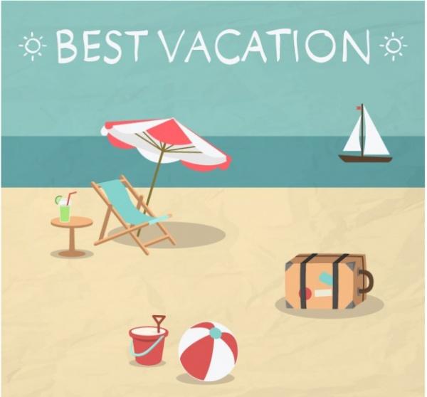 Amazing Summer illustrative Design