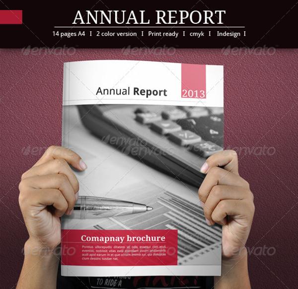 Annual Report Presentation Brochure