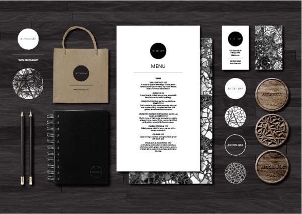 Antoni Bar Tapas Restaurant Branding