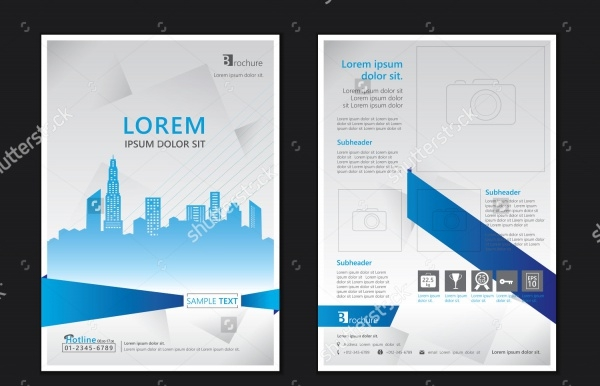 Architecture Portfolio Brochure Template