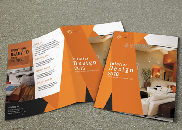 Architecture or Interior Designer Brochure