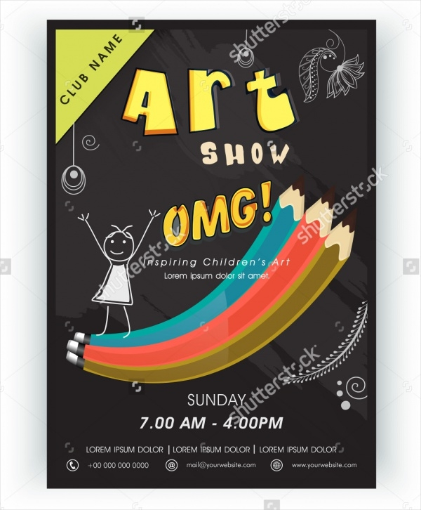 art show flyer template free - Heart.impulsar.co