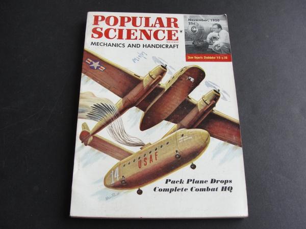 Automobile Popular Science Magazine
