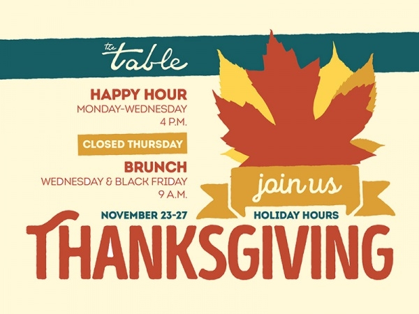 Autumn Thanksgiving Flyer Design