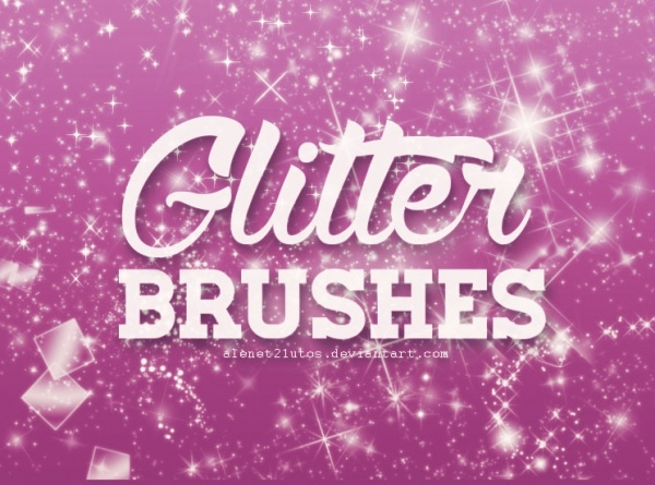 Awesome Cool Glitter Brushes