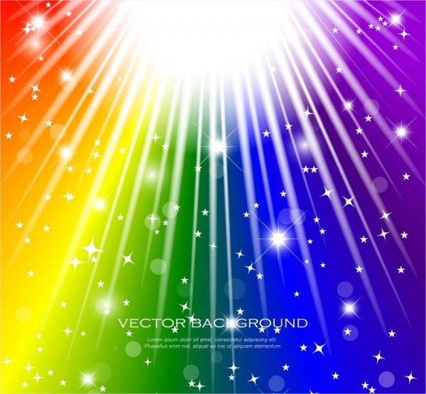 Awesome Rainbow Vector
