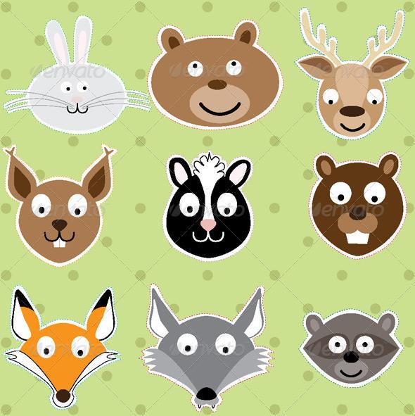 Baby Animal Illustration Design