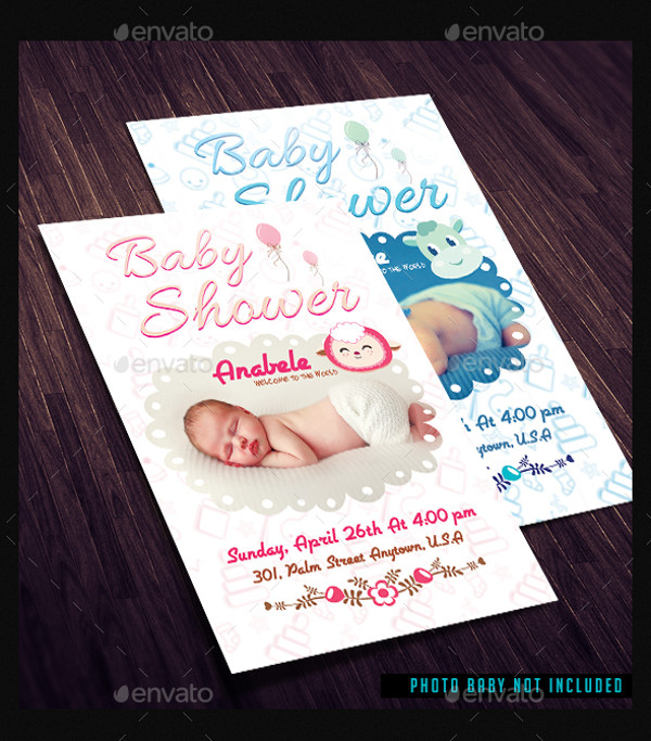 Baby Shower Flyer Template  Baby Shower Flyer Templates Free