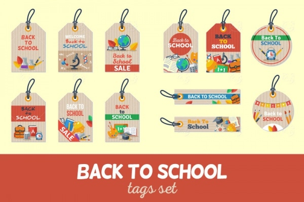 Back to School Hang Tags