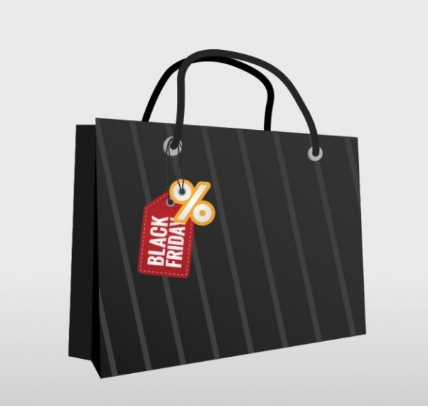 Bag with Tag for Black Friday
