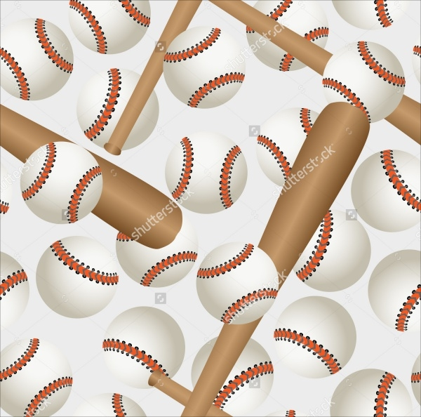 Baseball Bats and Balls Pattern