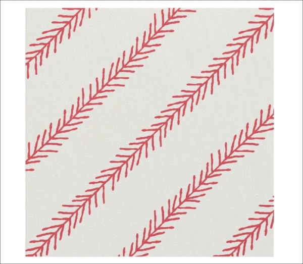 Baseball Stitch Cotton Fabric Pattern