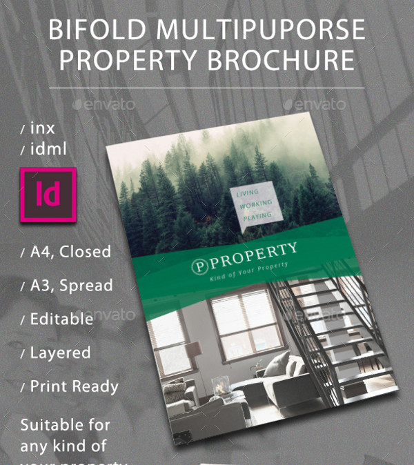 Bi Fold Property Brochure