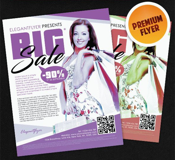 Big Sale – Flyer PSD Template