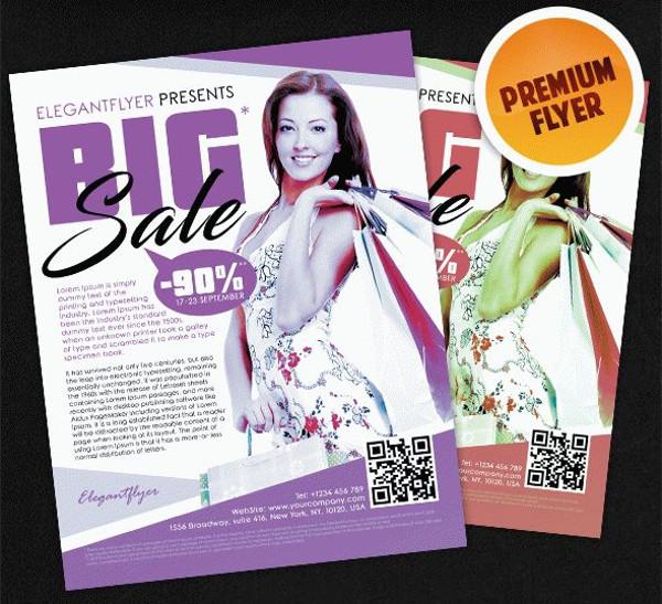 Big Sale – Flyer PSD Template