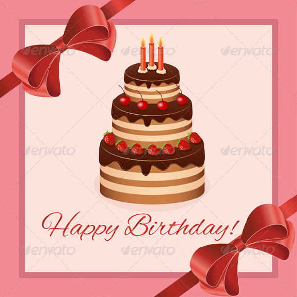 Birthday Greeting Card Design