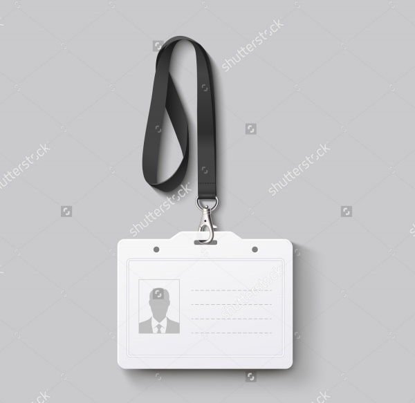 Blank ID Card Design